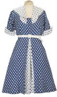 50er-Jahre-Damenkleid