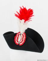 Aufgeschlagener Hut