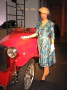 50er Jahre Damenkleid
