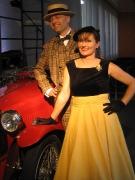 1950er Abendkleid
