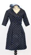 50er Jahre Damenkleid mit Petticoat