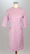 60er Jahre Kleid pink