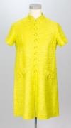60er Jahre Kleid gelb