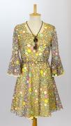 Damenkleid 70er Jahre