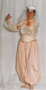 Orientalische Tänzerin rosa