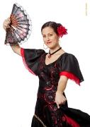 Spanisches Flamenco Kleid