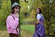 Tiroler und Frau im Dirndl
