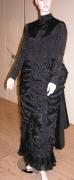 Kleid 1880 schwarz