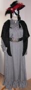 Kleid um 1910 grau