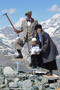 Bergsteiger Familie