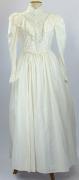 Jahrhundertwende Kleid weiss