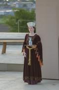 Mittelalter Damenkleid mit Gurt