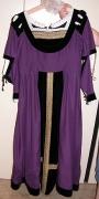 Renaissance Damenkleid violett