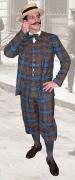 Knickebocker-Anzug mit Canotier