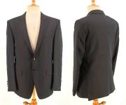 Anzug schwarz mit braunschimmer