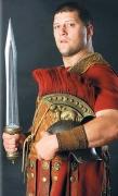 Römischer Krieger mit Kurzschwert