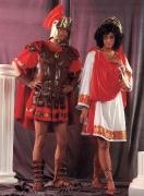 Römischer Centurion und Römerin