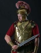 Römischer Krieger mit Gladius