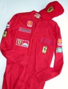 Ferrarioverall mit Mütze