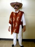 Mexikaner Kostüm mit Sombrero