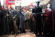 Russisches Volk russische Revolution