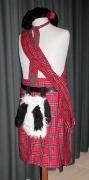 einfaches Schottenkostüm