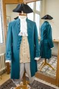 Barock Bürger Kostüm blau