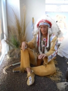 Indianer Häuptling