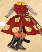 Mittelalter Edelmann mit Wappenskapulier