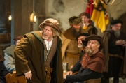 Mittelalter Kostüme am Filmset