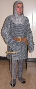 Ritter mit Kettenhemd und Schwert