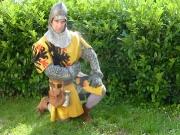 Ritter mit Habsburger Wappenrock