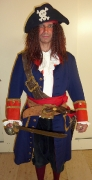 Pirat mit Säbel