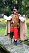 Pirat mit Holzbein