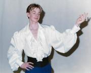 Rüschenhemd für Tänzer