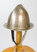 Helm einer mittelalterliche Wache
