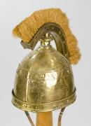 Helm mit Kamm