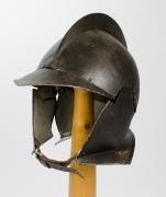 Sturmhaube dunkel 16. Jahrhundert
