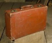 Reisekoffer 55x34x16 Leder
