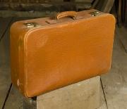 Reisekoffer 64x40x17 Leder