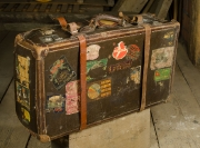 Reisekoffer 75x42x23 Leder