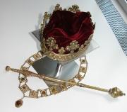 Krone, Zepter & Ordenskette