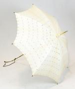 Schirm weiss