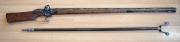 Radschlossgewehr mit Gabel