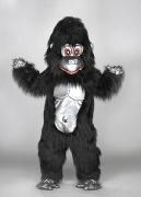 Maskottchen Gorilla