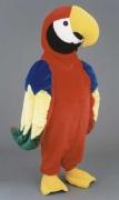 Maskottchen Papagei