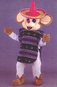 Maskottchen Maus Speedy