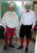 Storchen Kostüm einfach