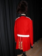 Englischer Gardist Original Rückenansicht
