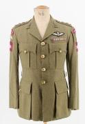 Britischer Offizier Ende 2. Weltkrieg